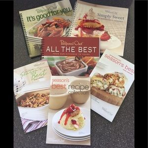 Pampered Chef cook books - lot of 6!